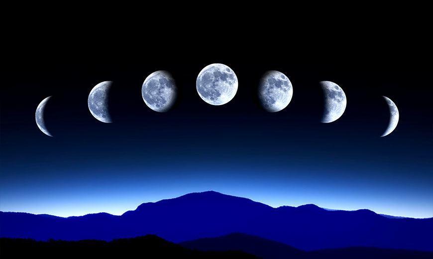 Фазы луны. Лунный календарь
