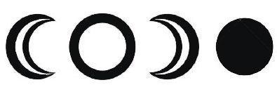 Символы луны