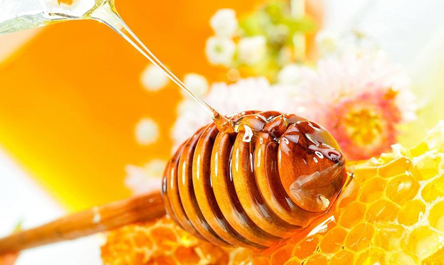 Пчелиный мед на сотах