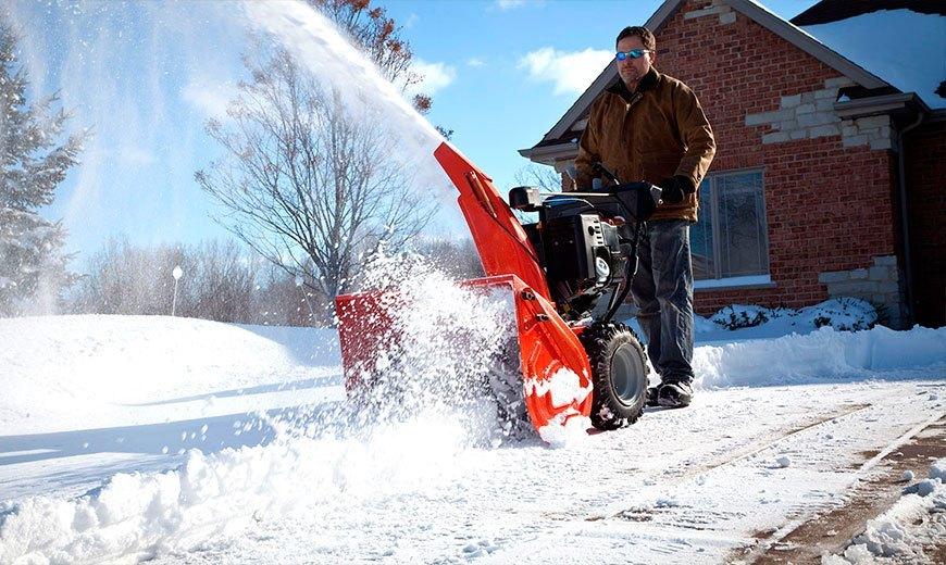 Снегоуборщик бензиновый