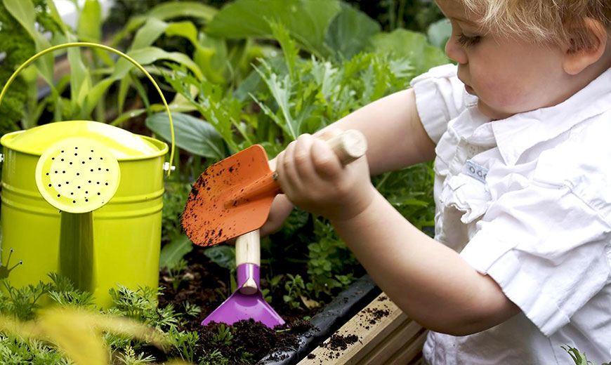 Садовые детские инструменты