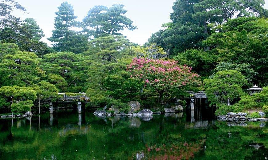 Императорский парк Киото