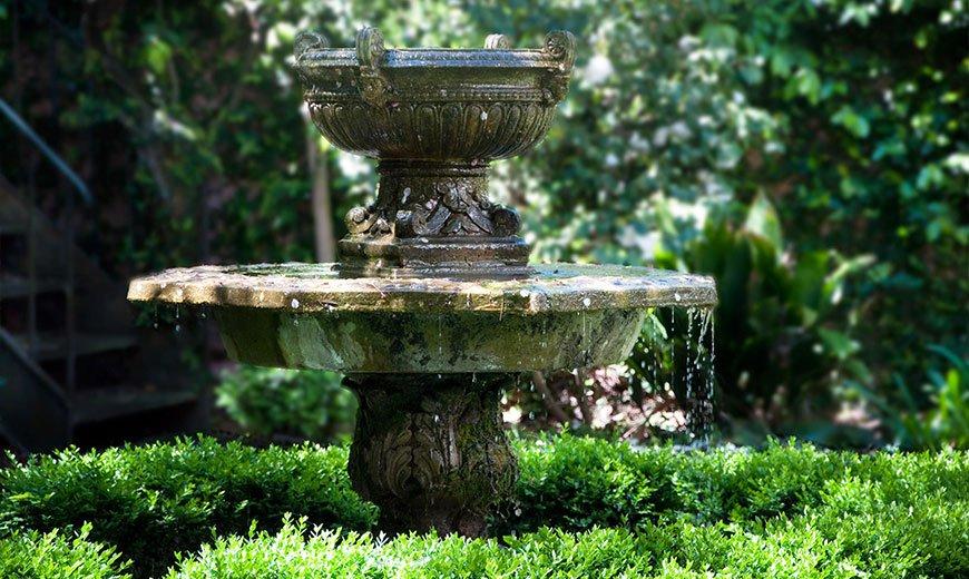 Миниатюрный фонтан