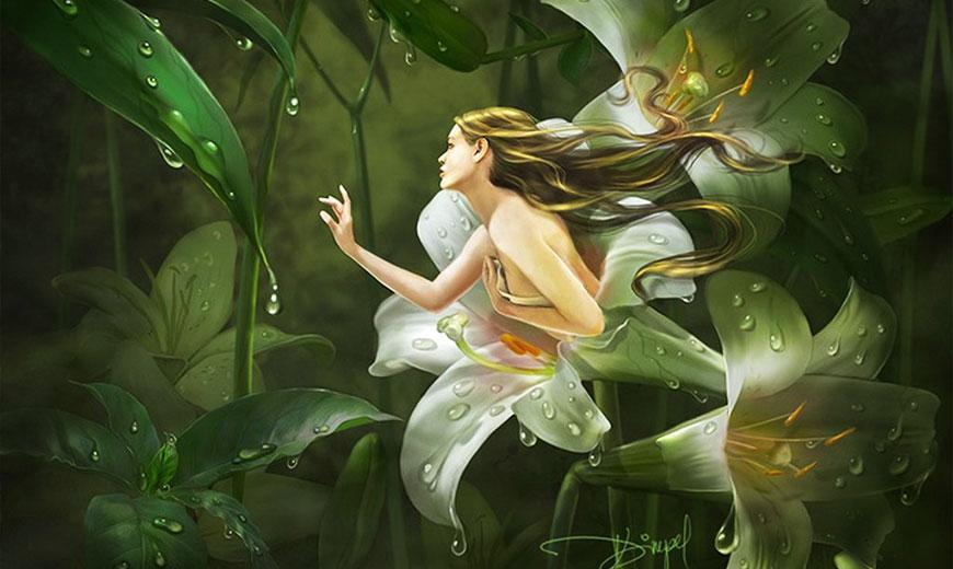 Лилии - эльфы
