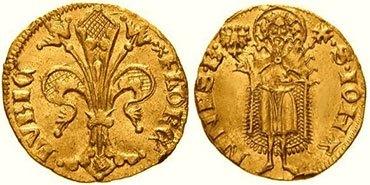 Старинные монеты с лилиями
