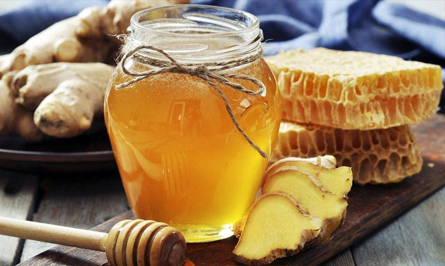 Полезный имбирный чай с медом