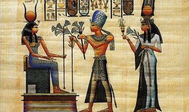 Букеты в Древнем Египте