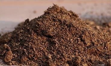 Почва с удобрениями