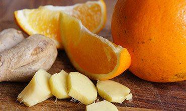 Имбирное варенье с апельсинами