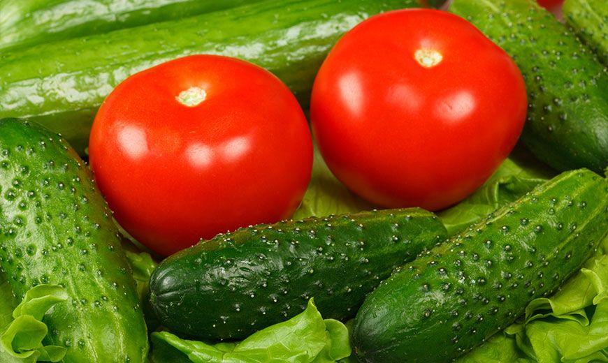 Хранение помидоров и огурцов