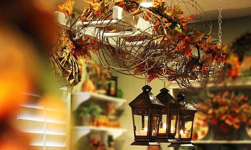 Осенний декор на кухне