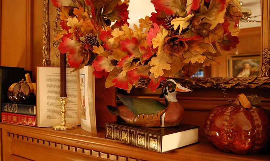 Осенний букет в интерьере