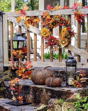 Осеннее крыльцо