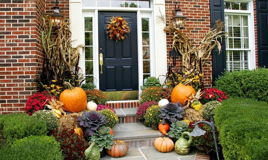 Осенний парадный декор