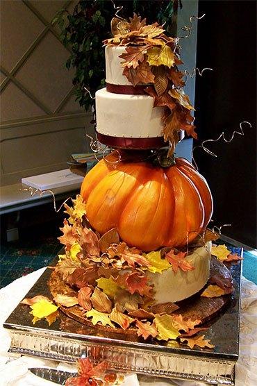 Осенний натюрморт с тыквой