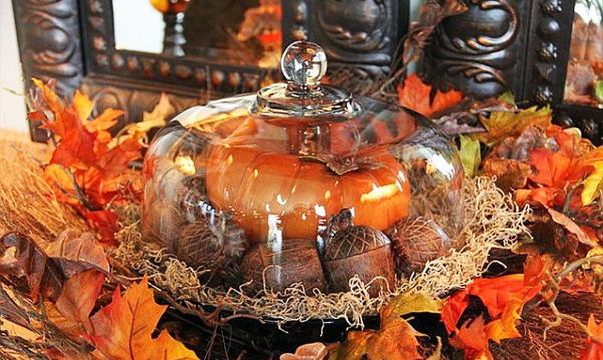 Осенний торт с тыквой