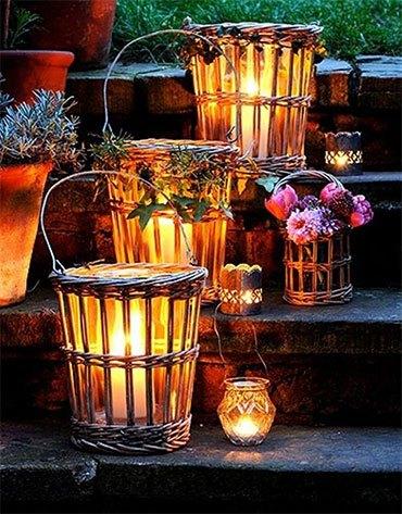 Осенние светильники