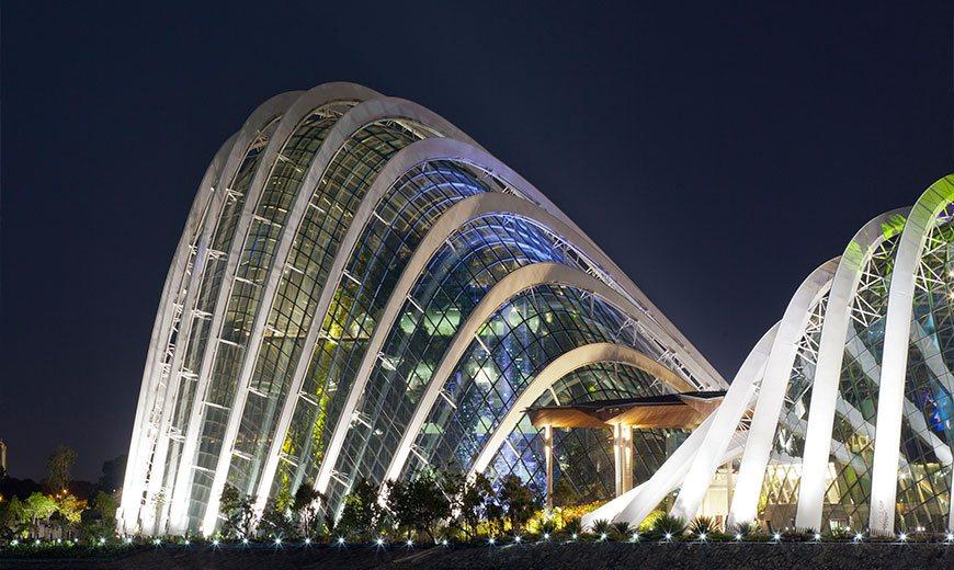 Зимний сад в Сингапуре