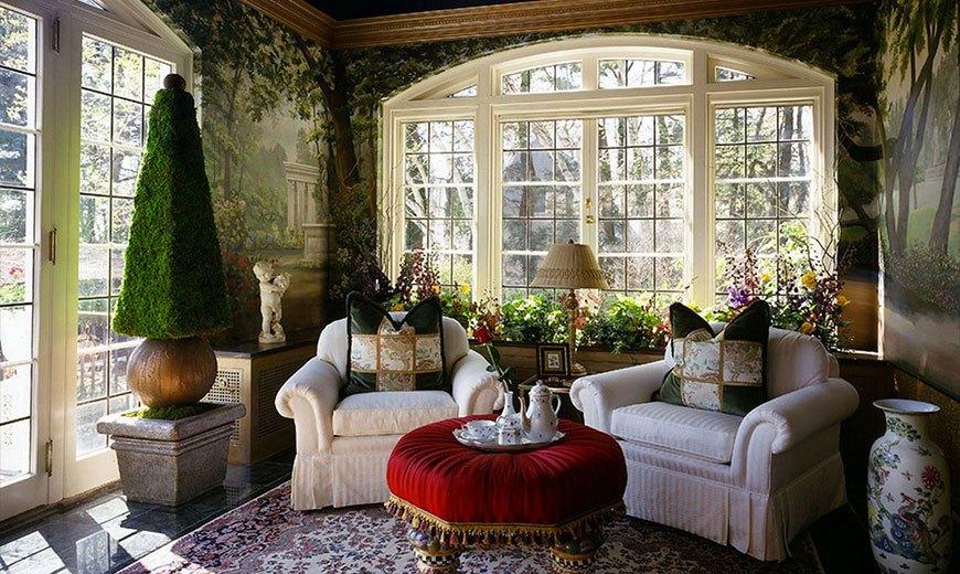 Зимний сад во французском стиле