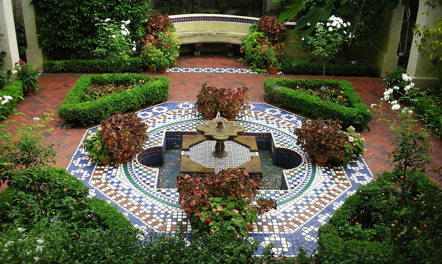 Зимний сад в мавританском стиле