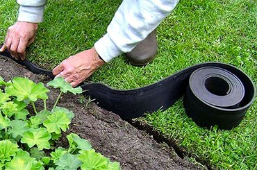 Лента для газона