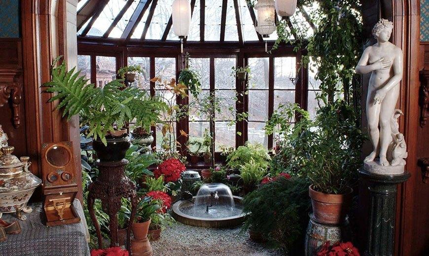 Классический зимний сад