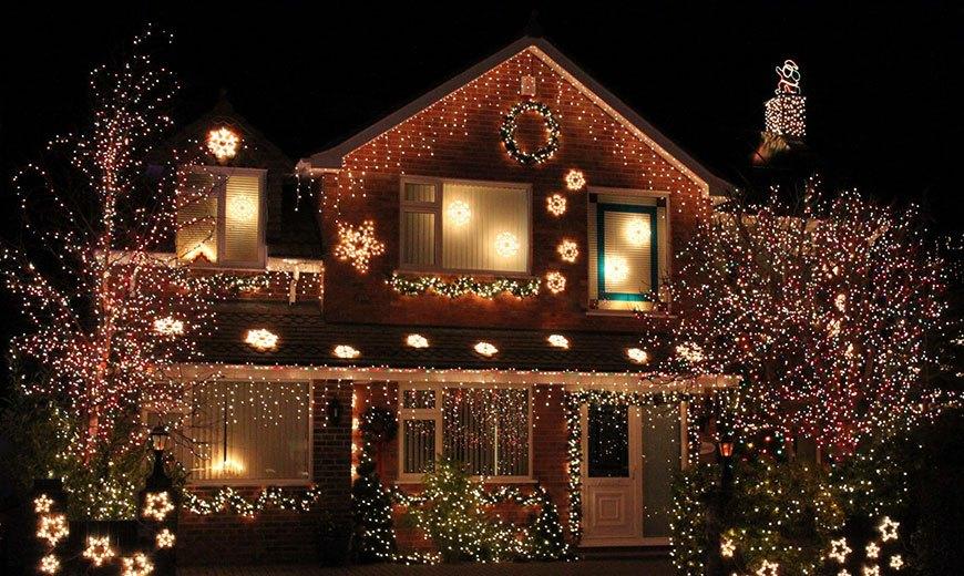 Красочное оформление дома