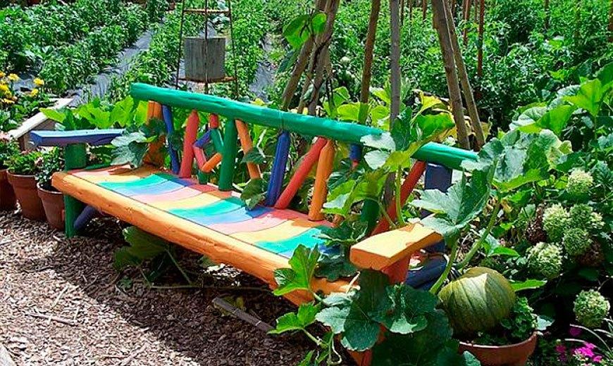 Огородные скамейки
