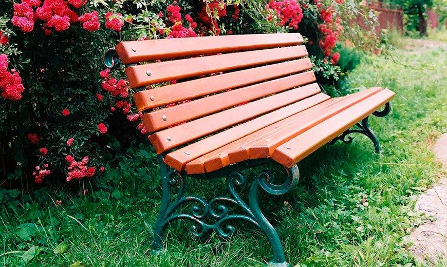 Чугунные скамейки для парка