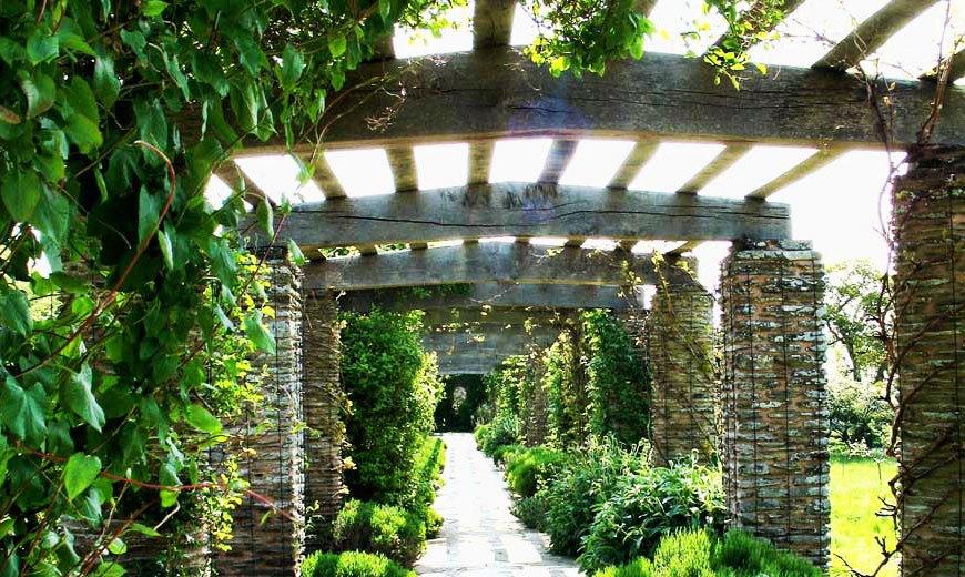 Пергола - зеленый коридор